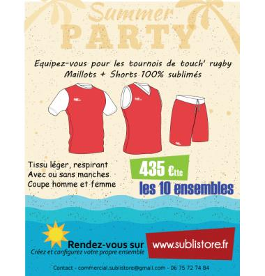 Promo touch' rugby