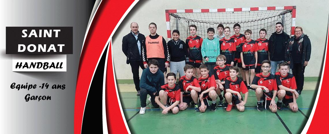 Saint Donat Handball -14 ans